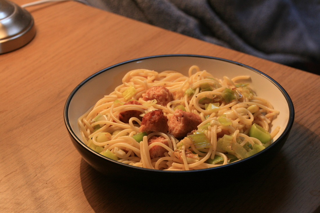 Linda McCartney Sausage and Leek Pasta