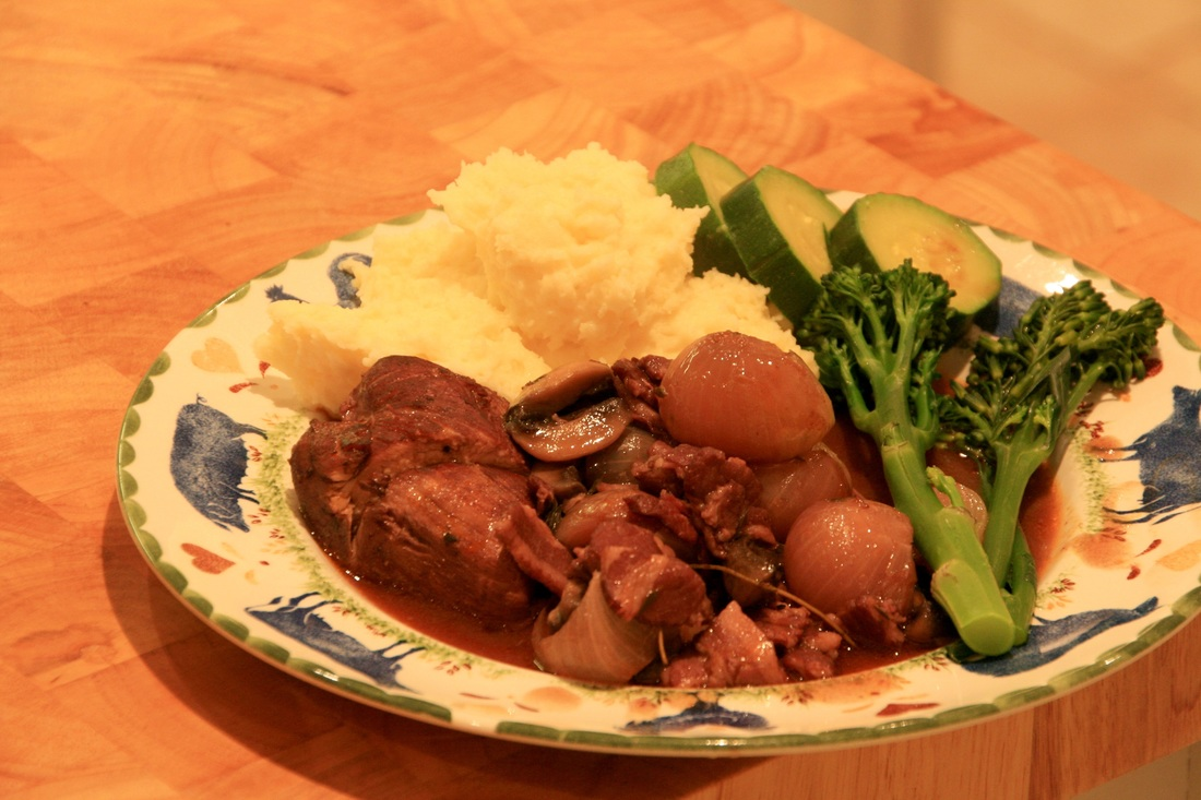 Super Rich Coq Au Vin
