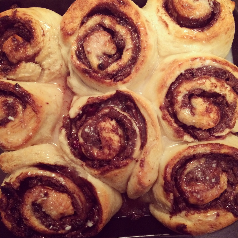 Barking Baking Chocolate Buns