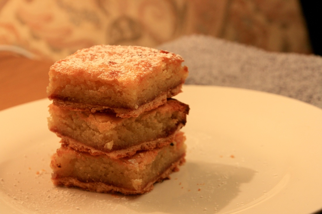Easy Bakewell Tart Bars