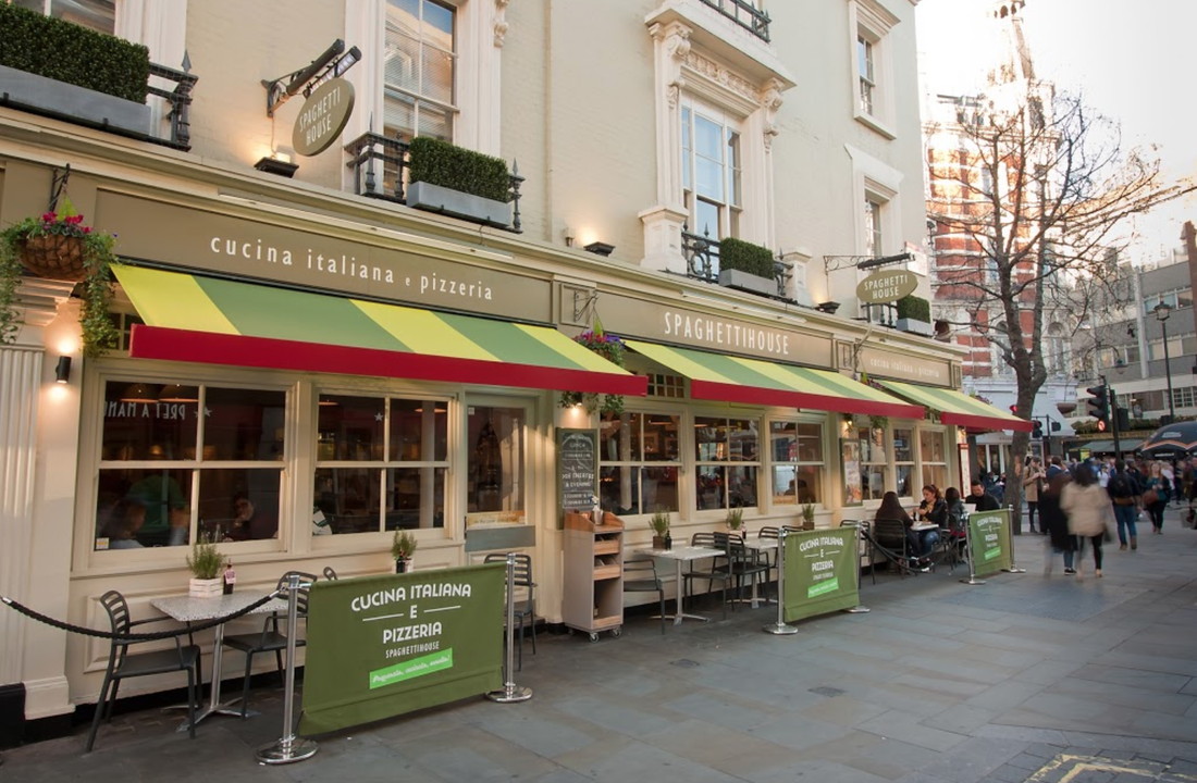 Great Eats: Spaghetti House, Leicester Square